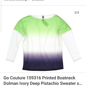Go Couture Sweaters - Go Couture Vintage Edition Sweater